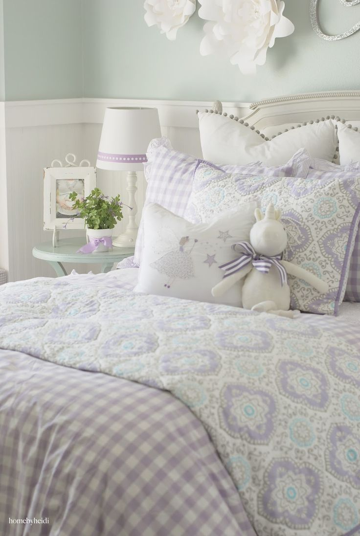 Home by Heidi  Purple   Turquoise Little Girls Room. 236 best Home By Heidi images on Pinterest   Little girl rooms