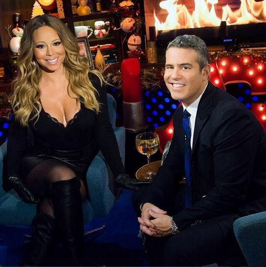 Watch What Happens Live: Mariah Carey SHADES Beyonce, Disses Eminem, Talks Having More Kids & Her New Album! [VIDEO] « Gossipwelove | Your C...