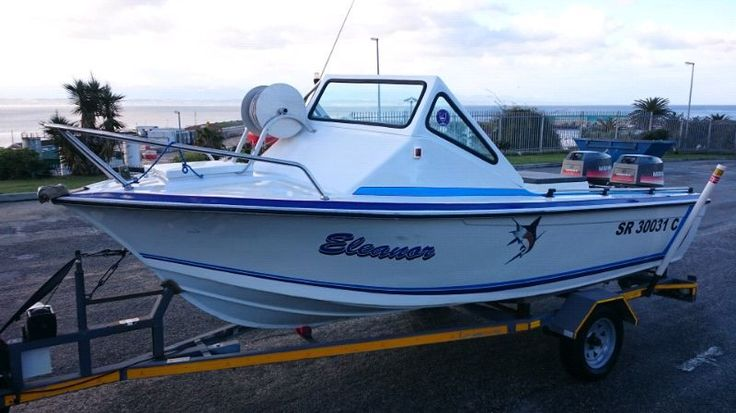 Incl. Seaworthy cert, 4.6m mono hull, 2 x 40HP Mariner motors (idle well), trailer with launch extension and guides…