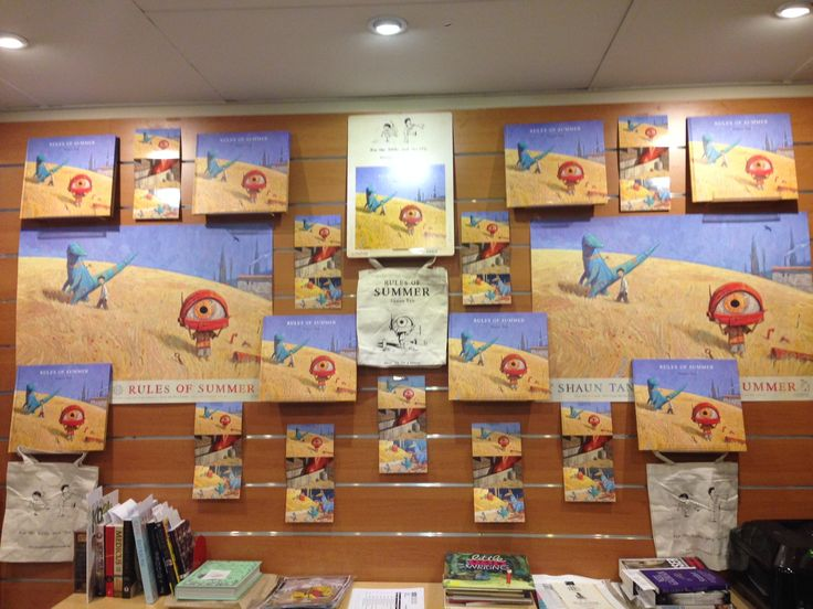 Oracle Bookstore is really showing some Rules of Summer love with this counter display. We're very impressed.