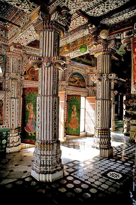 Jain Temple in Bikaner, Rajasthan, India