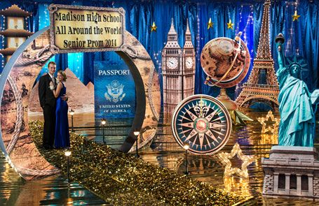 around the world themed events - Google Search