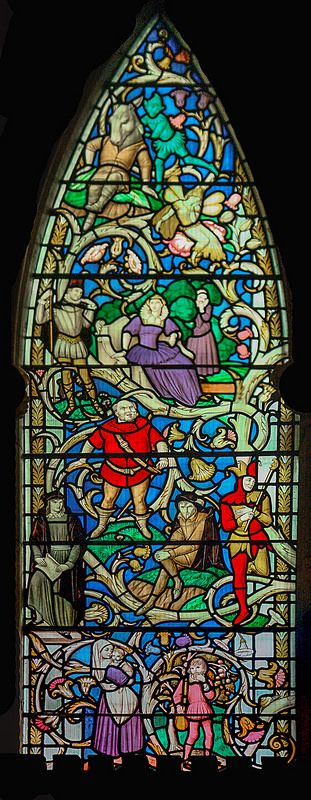 Southwark Cathedral 2 033 Interior 02a Shakespeare Window | Flickr - Photo Sharing!