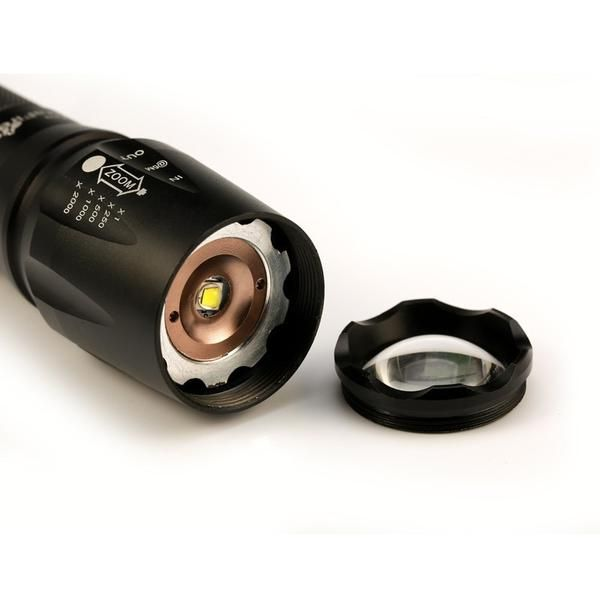 Military Grade 2000 Lumen Led Tactical Flashlight Kit Tactical Flashlight Flashlight Flashlight Kit