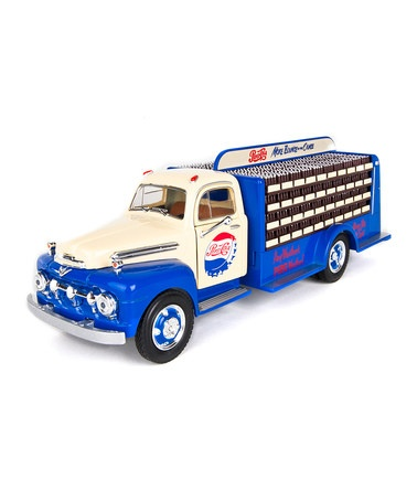 Take a look at this 1951 Pepsi Bottle Truck Set by Warehouse 36 on @zulily today!