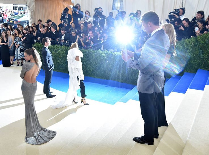 Tom Brady, Gisele Bundchen, Met Gala 2017, Instagram Husbands