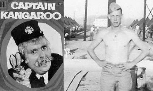 Actor, PFC Bob Keeshan US Marine Corps (Served 1945-1946)