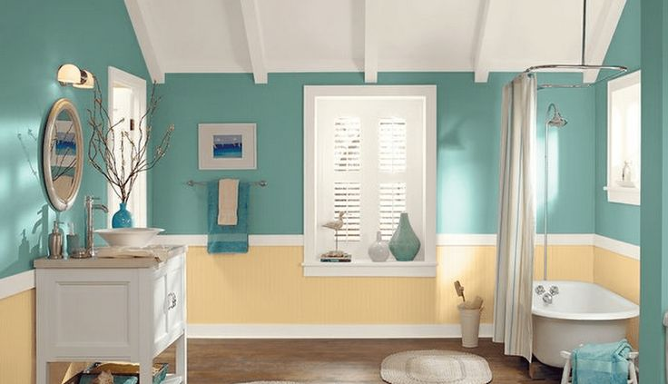 17 Best Projects To Try Images On Pinterest Best Bathrooms Bathroom Paint Colors And Benjamin