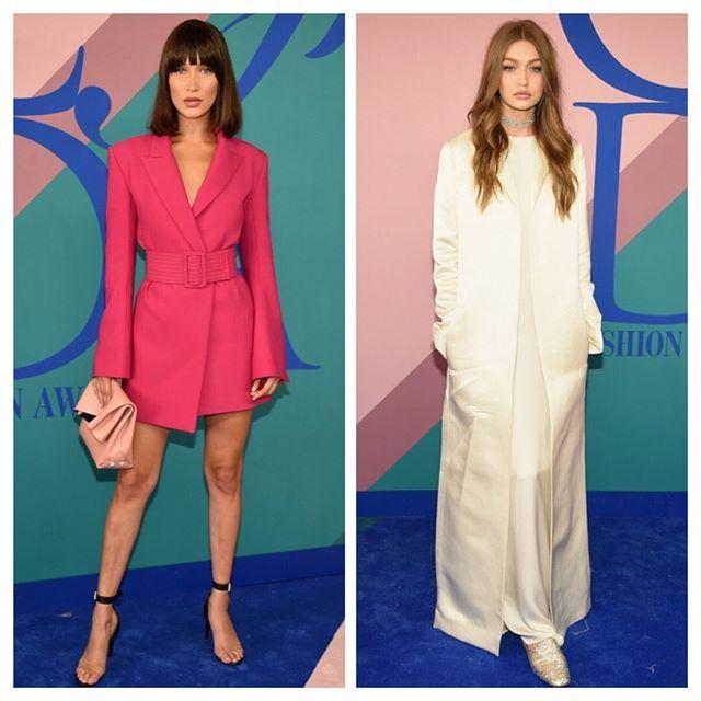 Wow! CFDA-prisutdelingen i New York natt til i går bød på noen uforglemmelige moteøyeblikk på den røde løperen. Hadid-søstrene skuffet ikke - vi elsker Bella i Off-White og Gigi var til forveksling lik en Olsen-tvilling i The Row. Kveldens kjolevinner? Vi stemmer på nydelige Alek Wek i Balenciaga! #cfdaawards  via ELLE NORWAY MAGAZINE OFFICIAL INSTAGRAM - Fashion Campaigns  Haute Couture  Advertising  Editorial Photography  Magazine Cover Designs  Supermodels  Runway Models