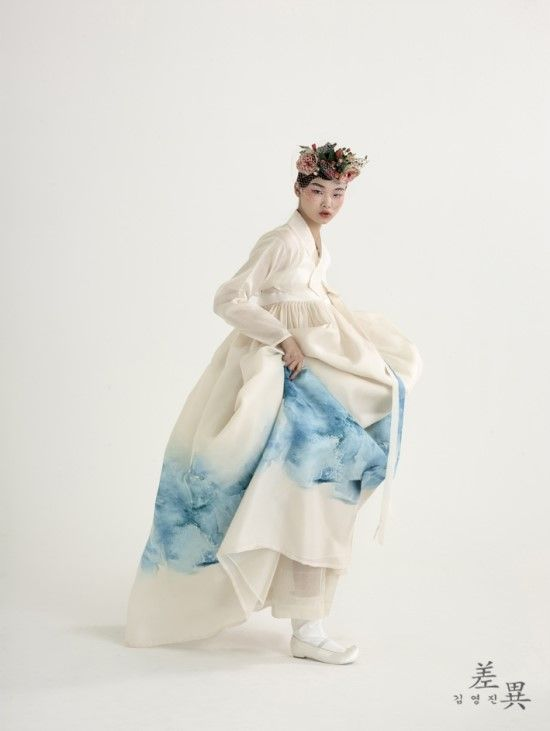 "koreanmodel: "" Bae Yoon Young for Tchai Kim Hanbok 2016 Lookbook """