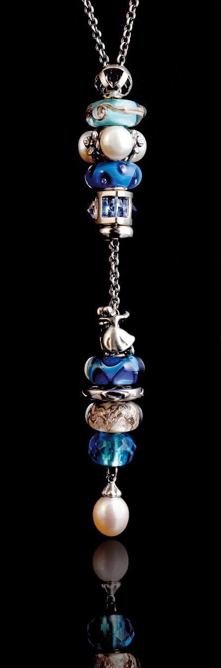 #Collana Fantasia #Trollbeads con beads della Collezione Autunno 2012