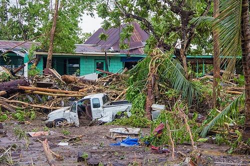 Cyclone Evan And Christmas In Samoa | MLJ Adoptions | Samoa |