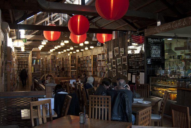 Berkelouw Bookstore & Cafe in #Newtown. Great #coffee and #breakfast spot.