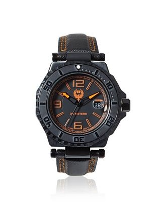 83% OFF Brillier Men's 25-03 Hype Black Stainless Steel Watch
