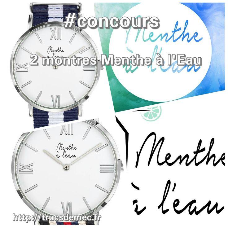 Menthe à L'Eau est une marque française, fraîche et colorée. Tentez votre chance afin de remporter une montre Menthe à L'Eau (2 gagnants). Bonne chance