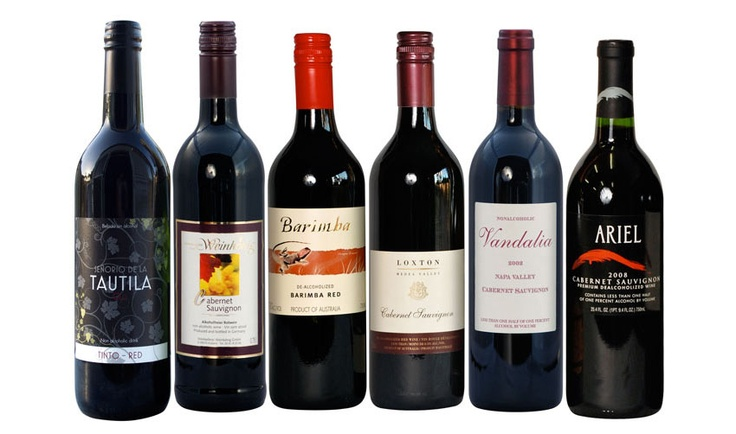 Huge selection of nice non alcoholic wines for delivery in for Mix drinks with wine