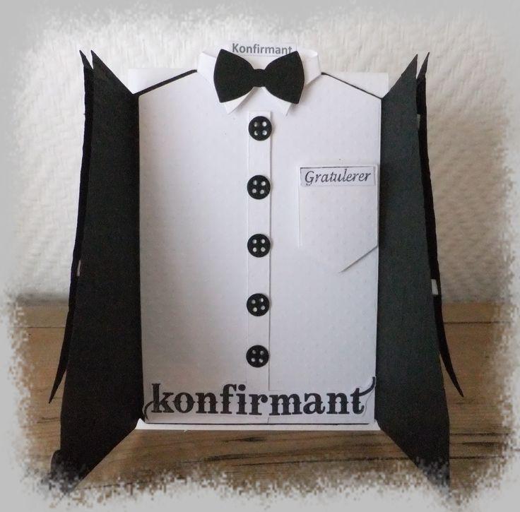 Konfirmasjon / Skjortekort