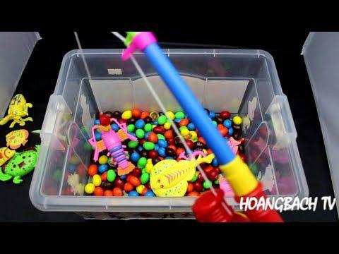 M&M's Fishing Game - Đồ Chơi Câu Cá Bơi Trong Rất Nhiều Kẹo - YouTube