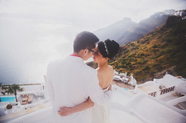 Wei & Sam —  Wedding on Santorini  - Студия Posmishka