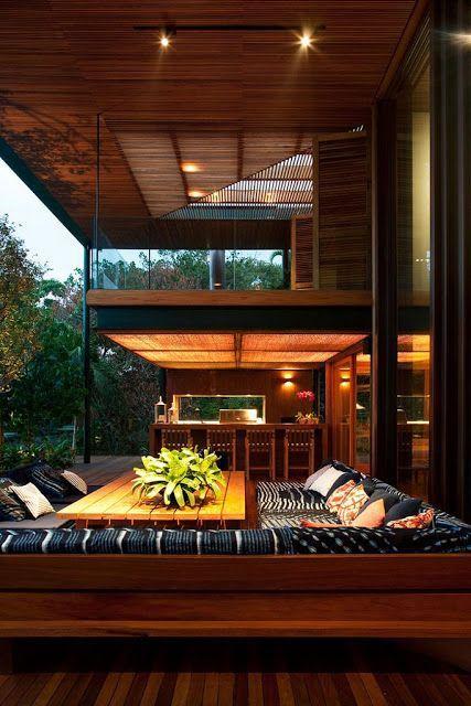Casa No Condominio Quinta da Baroneza | Bernardes & Jacobs #architecture #decor #interiordesign