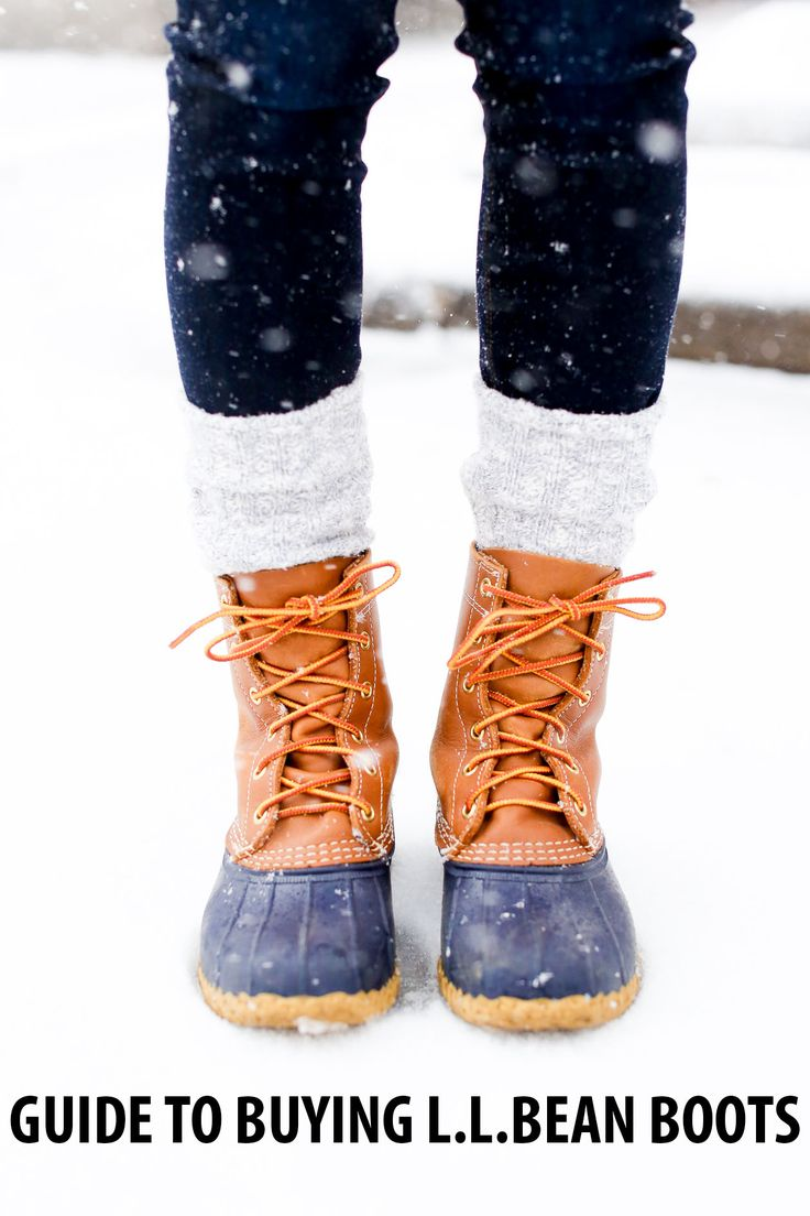 ecause I wear my L.L.Bean Boots so often, I get a lot of questions about 'em–whether from family, friends or readers. :) So I thought I'd sit down and finally write up some of my best tips for purchasing a pair. (And yes: they're just as wonderful as you may have heard!) Want to share…