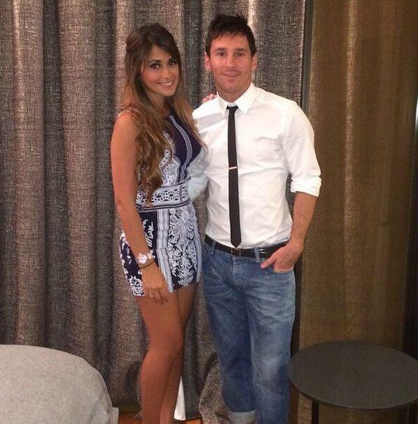 Grávida de cinco meses, esposa de Messi é internada em Rosário #globoesporte