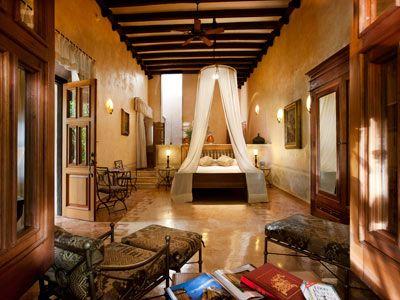 habitaciones hotel hacienda xcanatun, hacienda yucatan