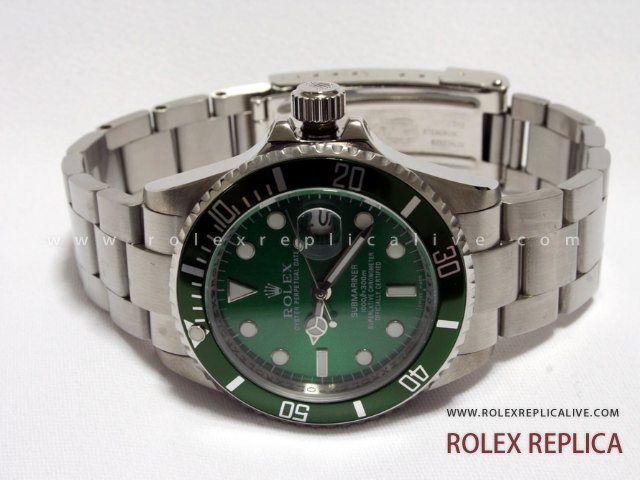 Rolex Submariner Date Replica Quadrante Verde (1)