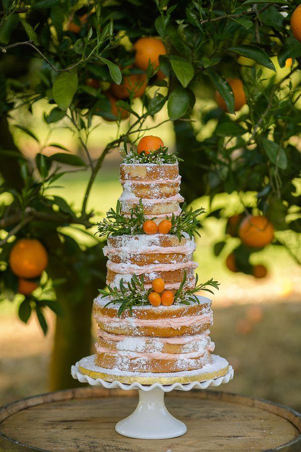 citrus cake | Sarah Becker #wedding