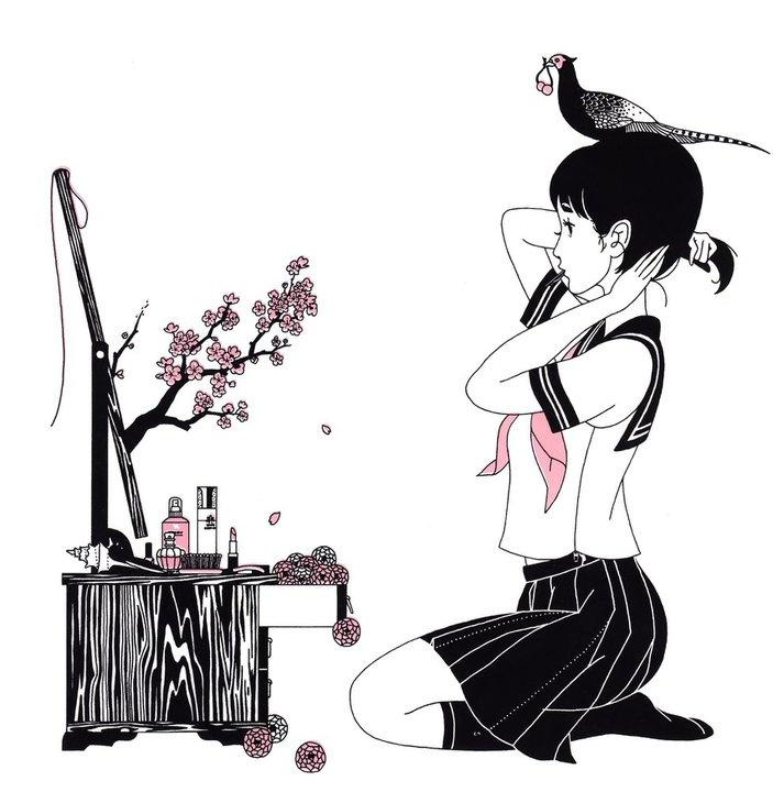 イラストレーター中村佑介インタビュー! 画集「Blue」のビフォー&アフターを巡る旅