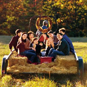 Celebrate Fall with Friends & Family, basking in the beauty of autumn and take an old fashion hayride.