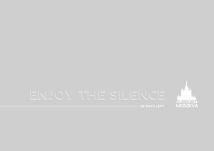 Enjoy the Silence!  rogvaiv.com - available for freelance