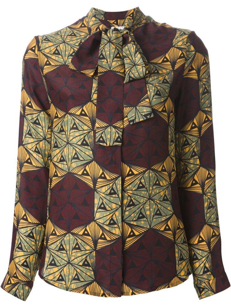 Camicia stampata STELLA JEAN  #alducadaosta #fw #fall #winter #women #fashion #style #accessories #apparel #newgraphic #prints #colors #trends #stellajean