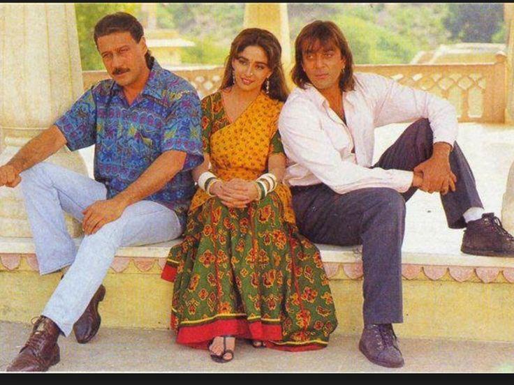 Madhuri Dixit Sanjay Dutt Jackie Shroff