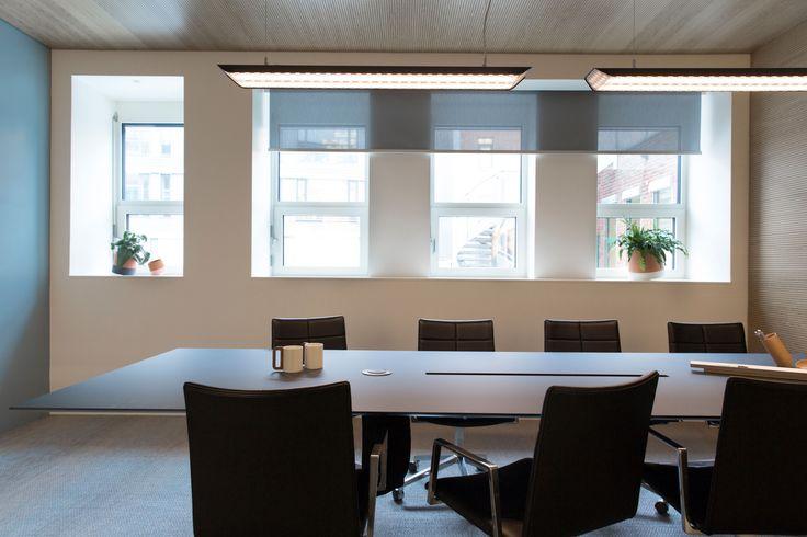 Møterom hos Stami, Oslo. Nyfelt og Strand interiørarkitekter mnil
