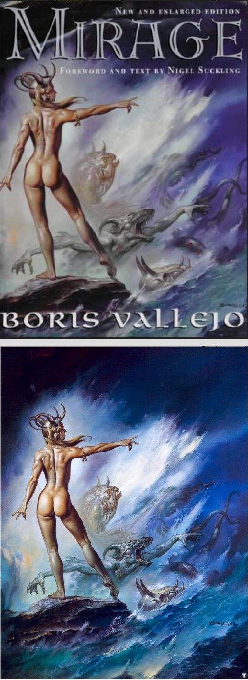 Mirage by Doris Vallejo and Boris S. Vallejo (1982, Paperback)