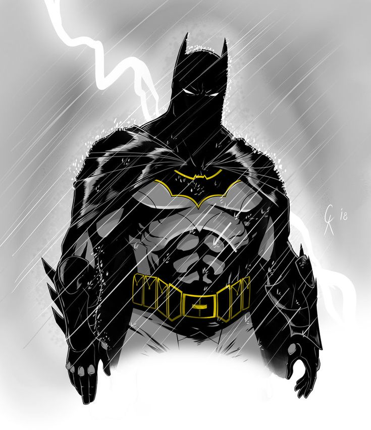 Batman Sketch by TimelessUnknown