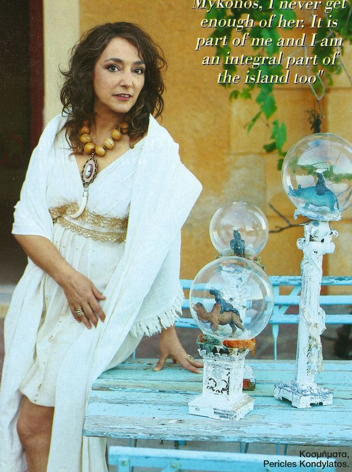 "The ""Uncivilized"" collection featured @ Hello Travel Mykonos Hello Travel Mykonos # 2 July 2015 Lydia Venieri wears necklaces from the ""Uncivilized Cameo"" collection by Pericles Kondylatos Photos: Nikos Kokkas Styling: Vassilis Zoulias Make-Up: Alexia Makri"