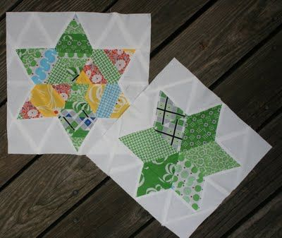Swim, Bike, Quilt!: Summer Sampler Series: Six Pointed String Quilt, or Choose Your Own Adventure