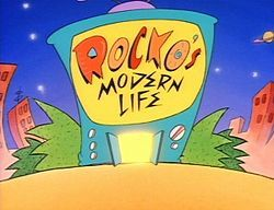"An example of Nickelodeon's ""edgier"" programming. Rocko's Modern Life"