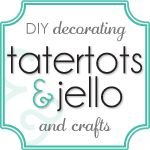 Tatertots and Jello -- A site that features a creative tutorial or idea everyday. Everything from festive holiday crafts, home DIY projects, delicious recipes, clothing refashions and more! Friday night is the Weekend Wrap Up Party where TT features YOUR ideas. Come over and be inspired!! #Crafts #DIY #Home: Diy Blog, Diy Ideas, Crafts Ideas, Up Parties, Gifts Ideas, Diy Crafts, Crafts Blog, Diy Site, Diy Projects