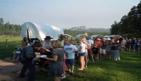 Palmer Gulch Horse Drawn Wagon Ride and Cowboy Supper | Rapid City SD