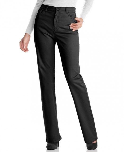 Офисные черные брюки
