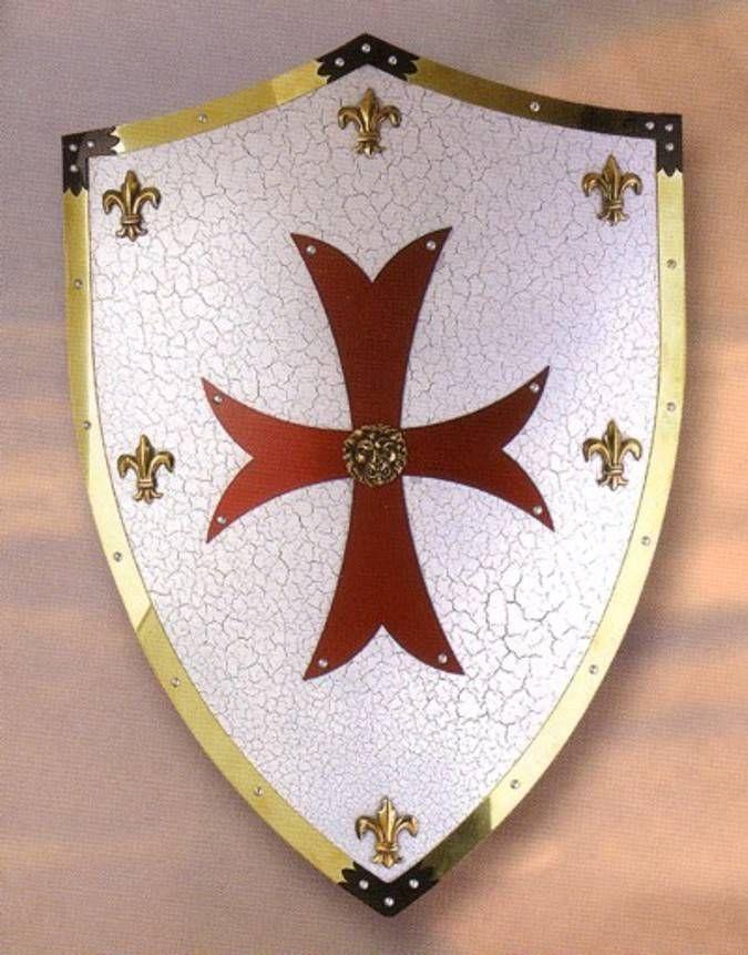Escudo Cruzados. Escudos medievales