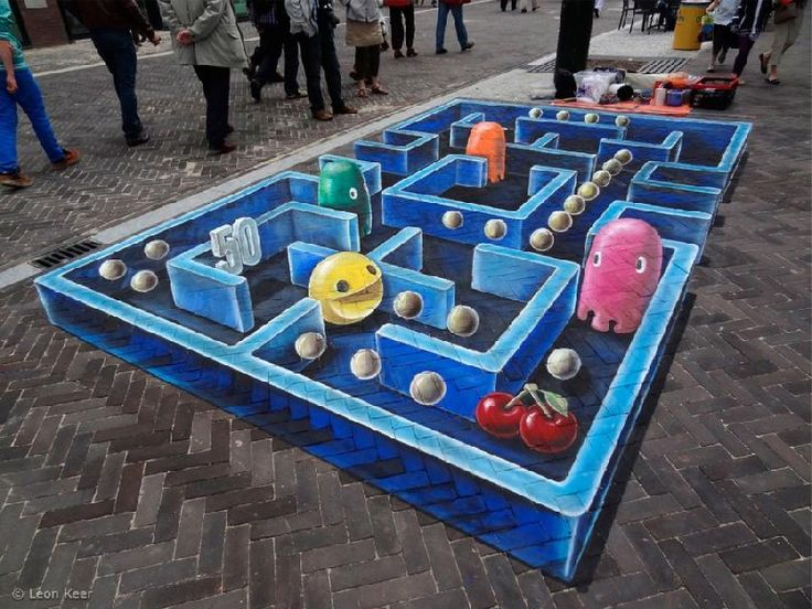 Pacman by Leon Keer