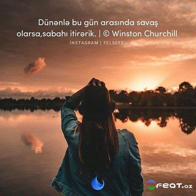 Aforizm Və Fəlsəfi Sozlər Yazili Səkilləri 2017 1 Instagram Churchill Winston