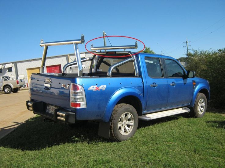 2010 Ford Ranger XLT 3.0 Double Cab Rear View