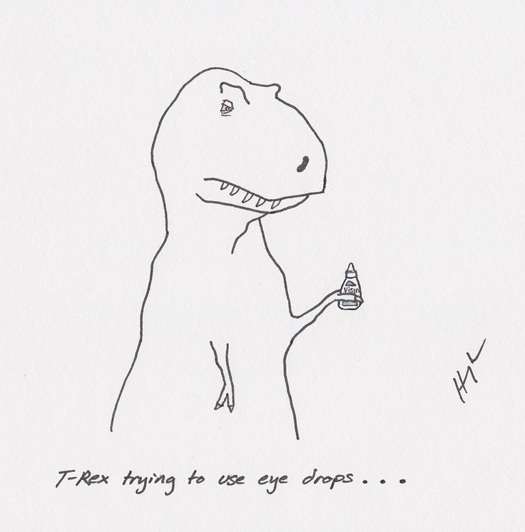 t rex trying... if you need a quick laugh. who thinks of this stuff?