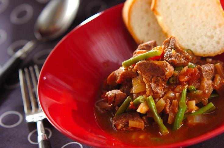 ラム肉のトマト煮込み【E・レシピ】料理のプロが作る簡単レシピ/2014.11.07公開のレシピです。