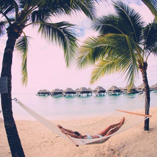 Super chill #beach #hammock hangout